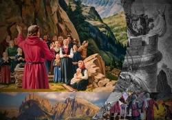 Descrição das perseguições contra os valdenses