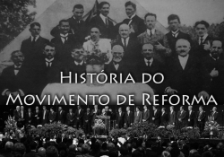 História do Movimento de Reforma -  A tentativa de sarar as feridas