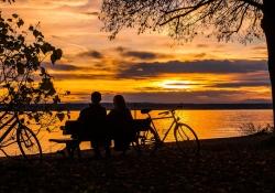 Meditação de por do sol - Uma união para a vida