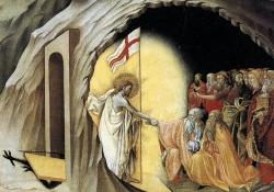 Cristo pregando a espíritos em prisão