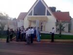 Inauguração de Igreja no Paraguai