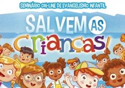 Seminário on-line de evangelismo infantil
